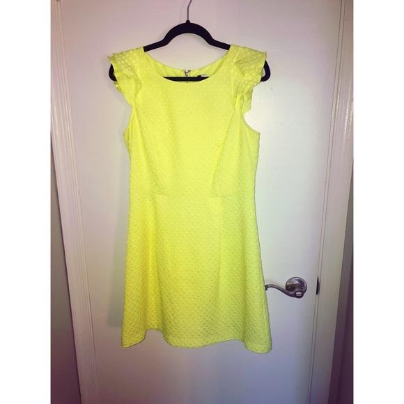 Kensie Dresses & Skirts - Kenzie- Neon Cap Sleeve Dress